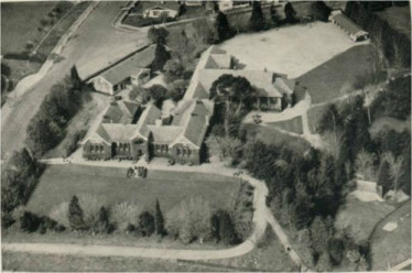 1911 Hamilton High School Aerial view