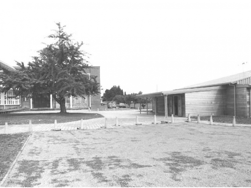 1990 Front of main building